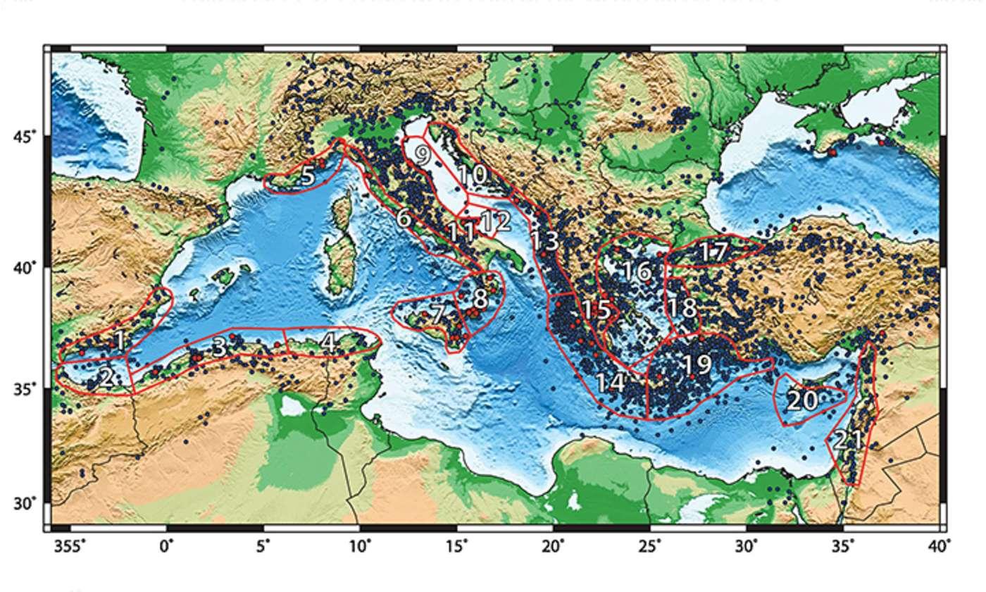 Tsunamigefahrdete Regionen Im Mittelmeerraum Eskp