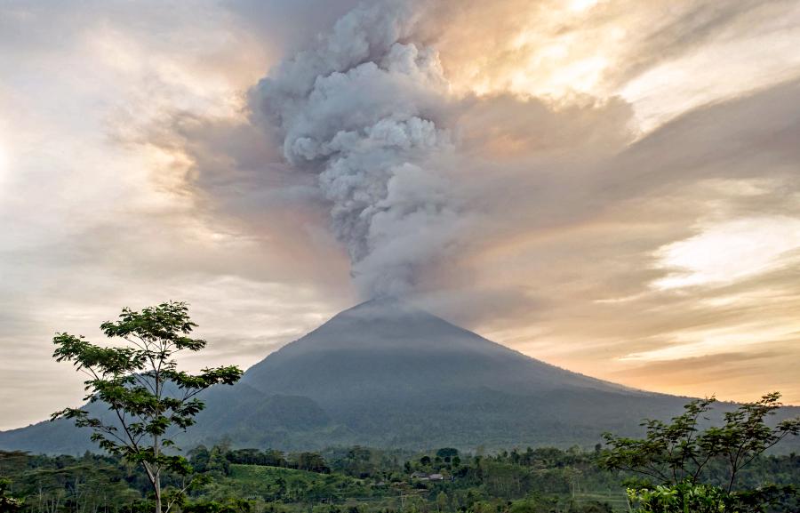 Ascheregen Vulkan