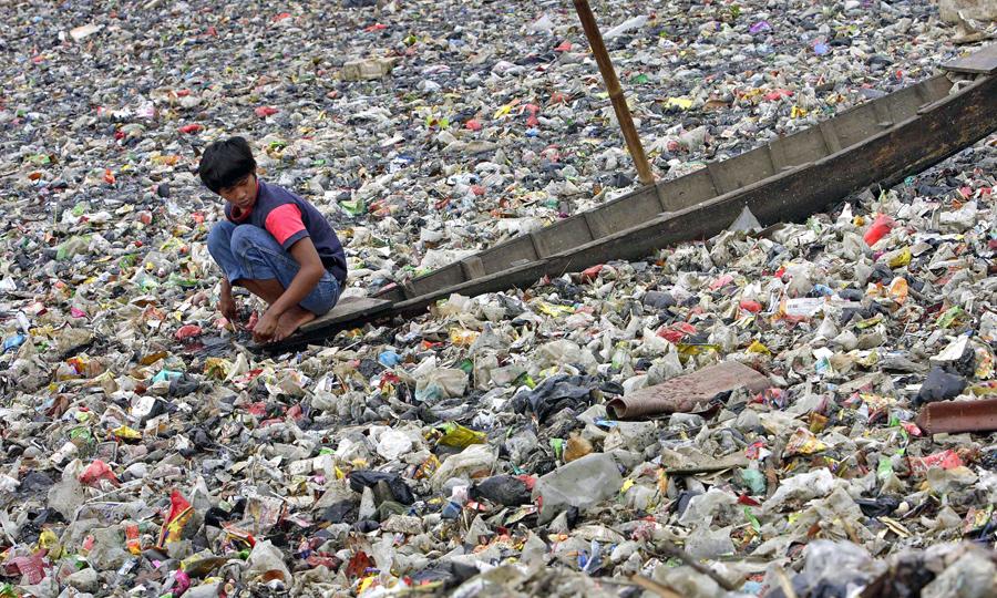 Garbage Island Pacific Ocean