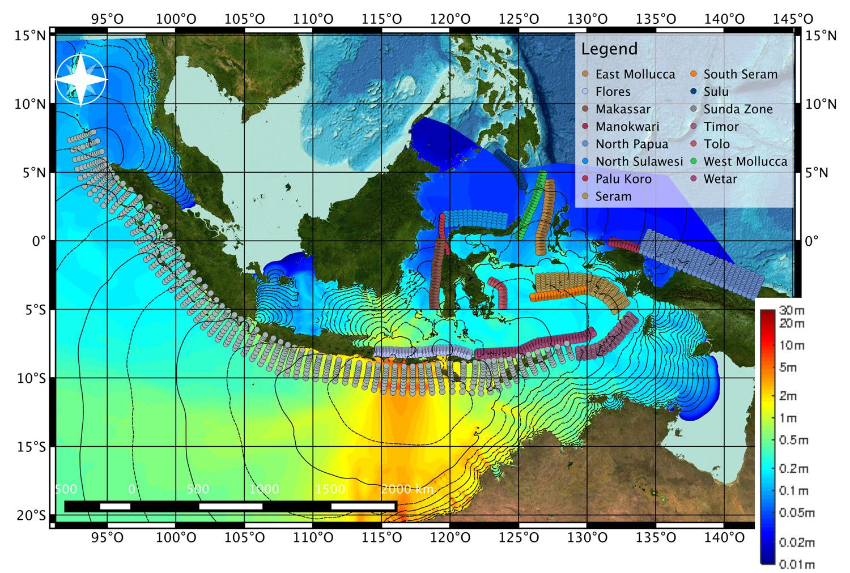 Wie gefährdet ist Bali? Tsunami-Simulationen für Indonesien ...